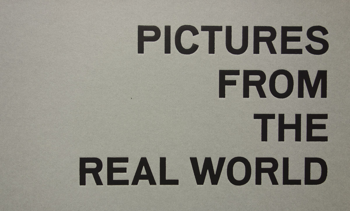 Pictures from the Real World
