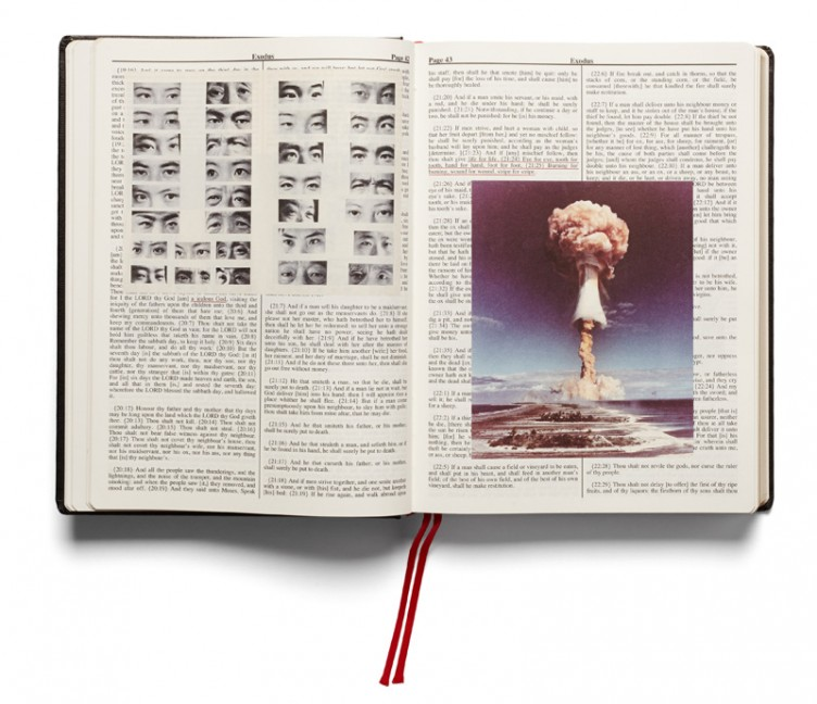 pp.42-43, Holy Bible, Adam Broomberg and Oliver Chanarin, MACK & the AMC 2013