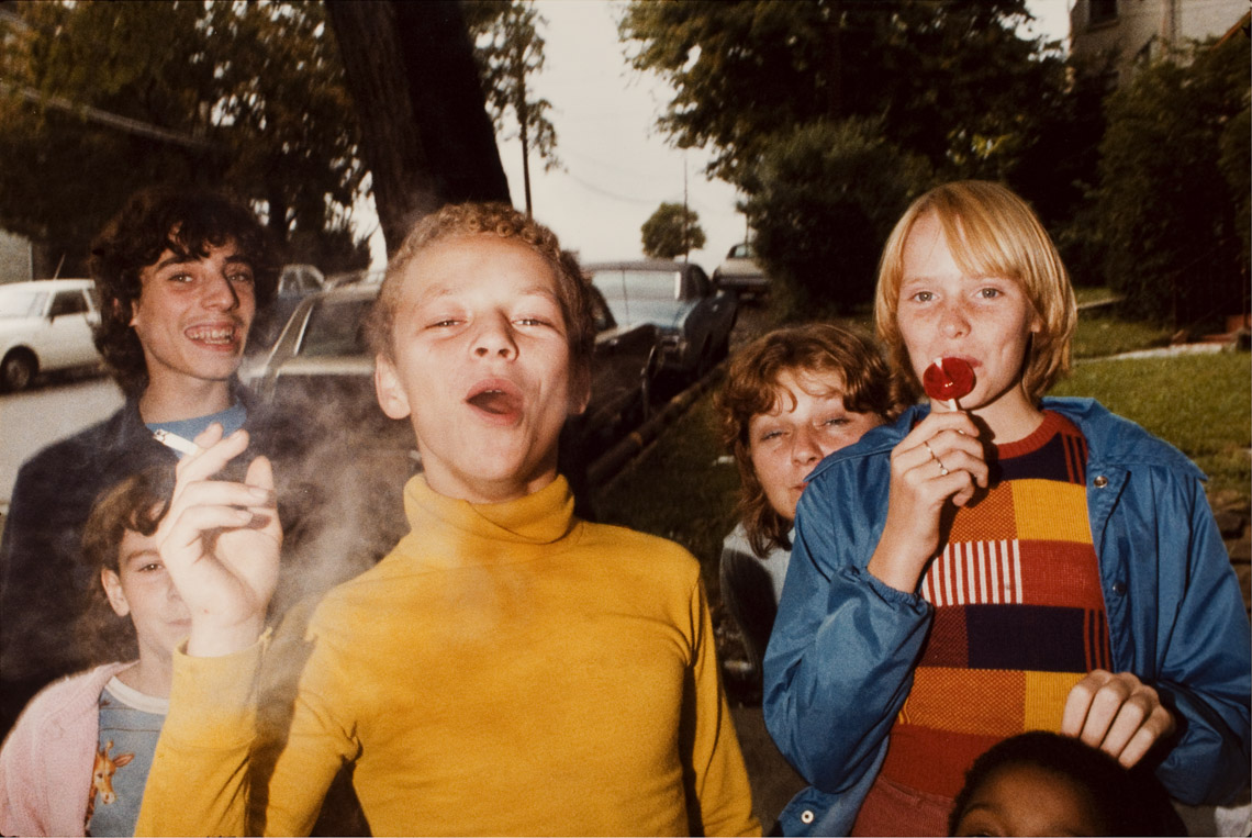 Mark Cohen (b. 1943) Boy in Yellow Shirt Smoking, 1977